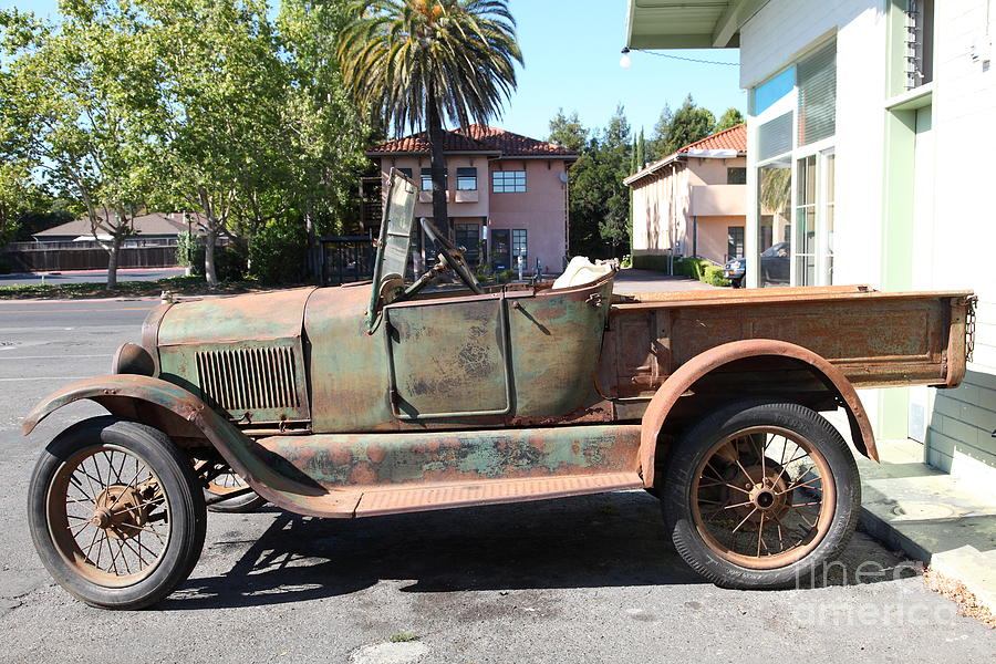 Rusty Old Ford Jalopy 5d24649 Photograph