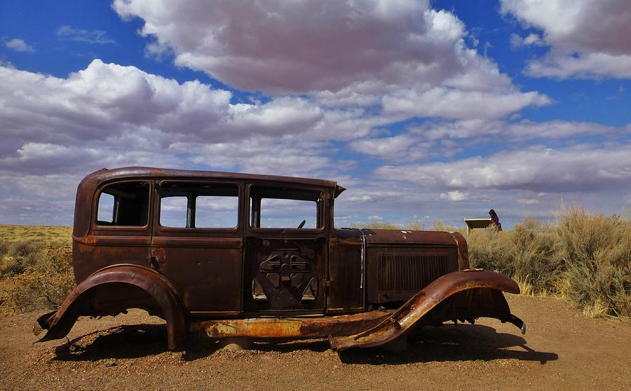 Rusty Route 66 Az Photograph