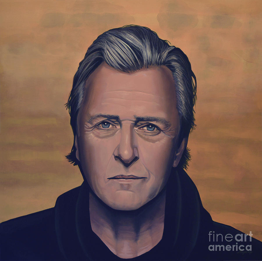 Rutger Hauer Painting - Rutger Hauer by Paul Meijering