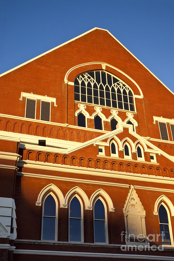 Ryman Auditorium Photograph  - Ryman Auditorium Fine Art Print