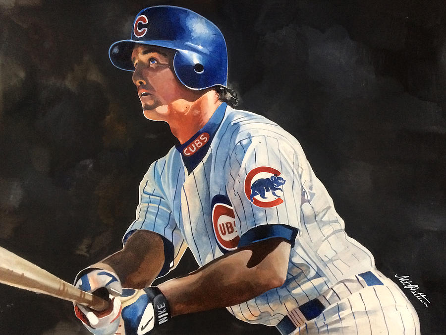 Ryne Sandberg - Chicago Cubs Painting