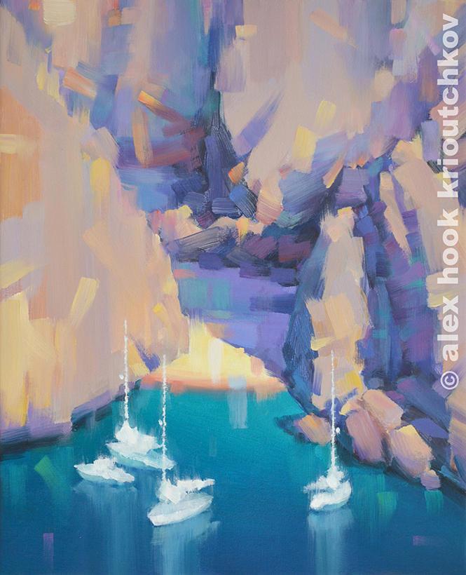 Sa Calobra II Painting