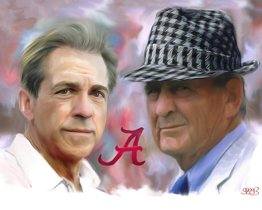 Mark Spears Painting - Saban And Bear by Mark Spears