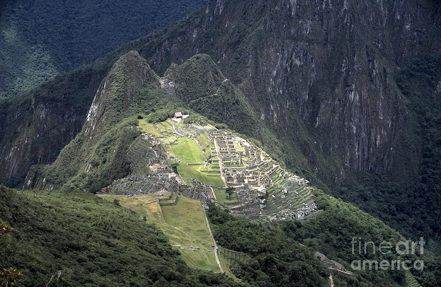 Sacred City Of Machu Picchu Photograph