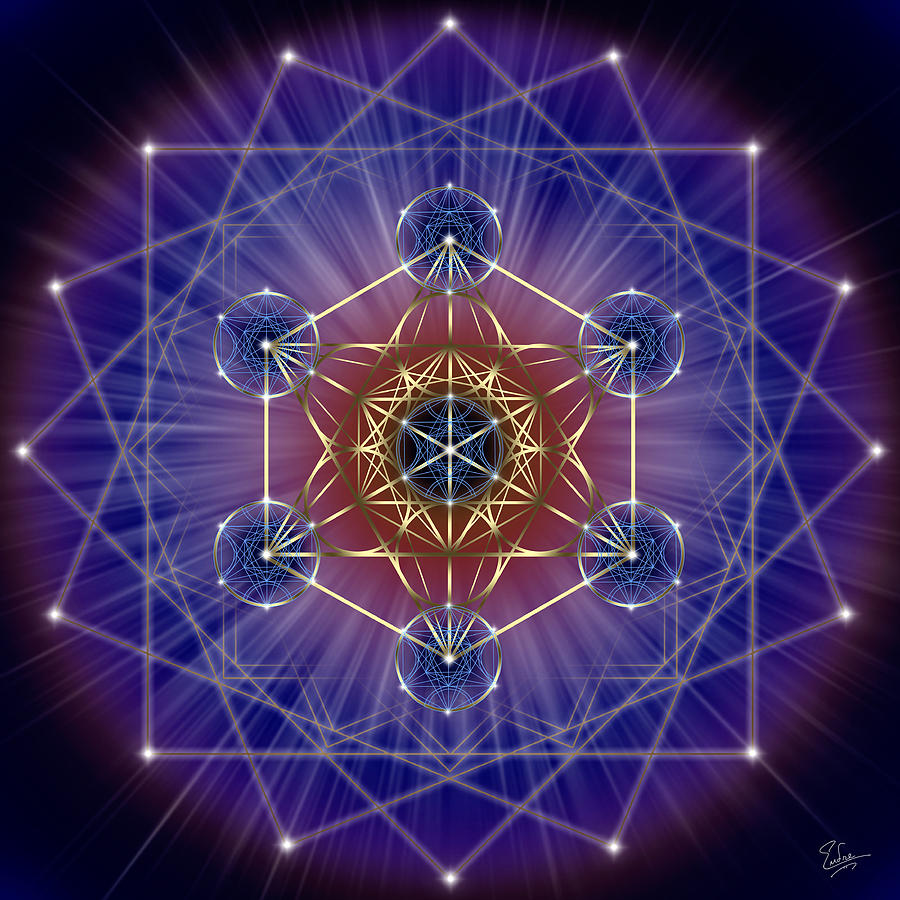 Sacred Geometry 149 is a piece of digital artwork by Endre Balogh ...