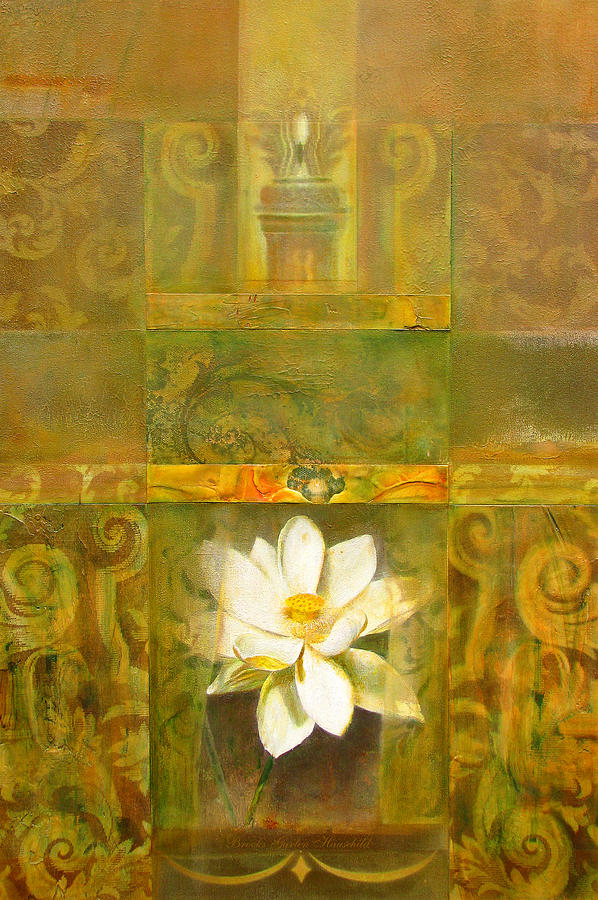 Lotus Painting - Sacred Places by Brooks Garten Hauschild