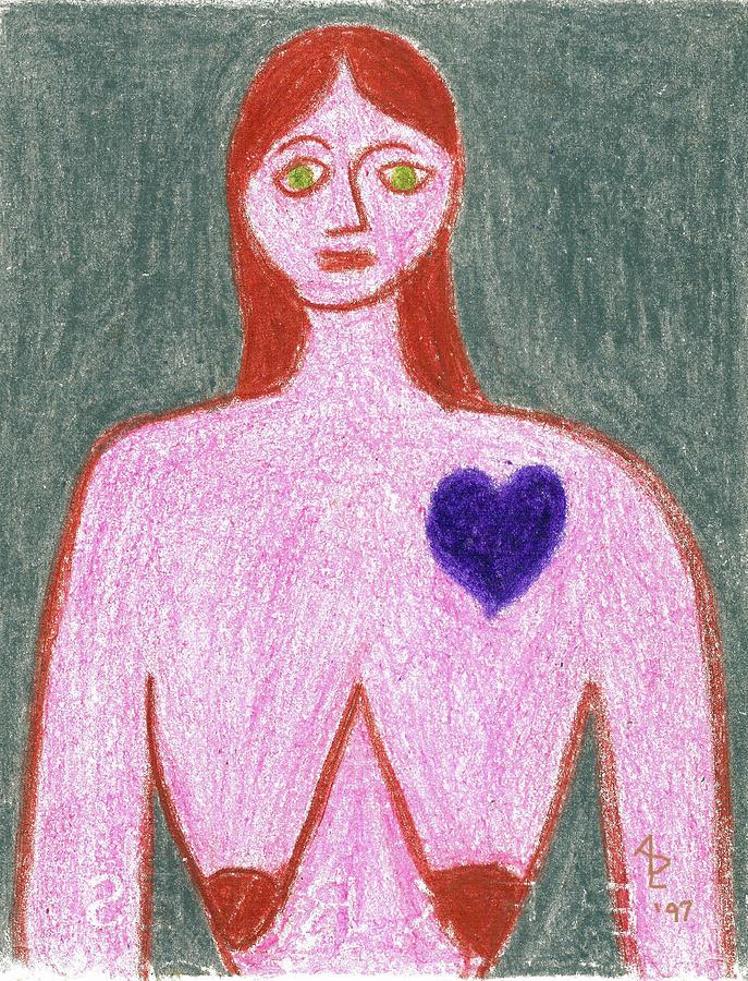 Portraits Painting - Sad by Anita Dale Livaditis