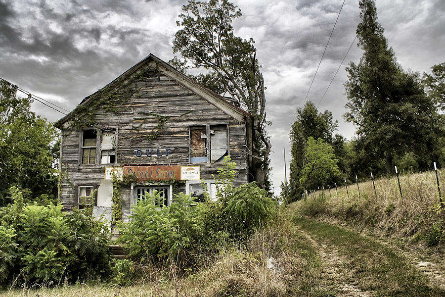 Rustic Photograph - Saddle Store 3 Of 3 by Jason Politte