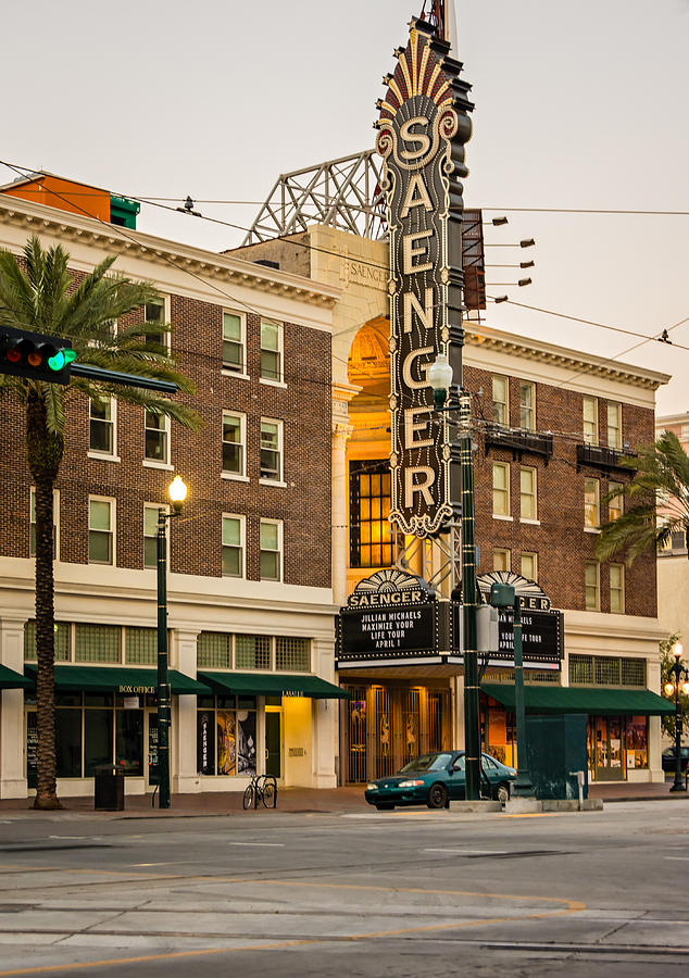Saenger Theatre New Orleans Photograph