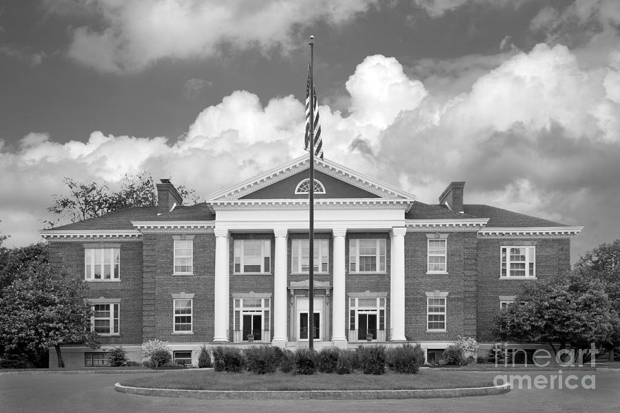Sage College Administration Building Photograph  - Sage College Administration Building Fine Art Print