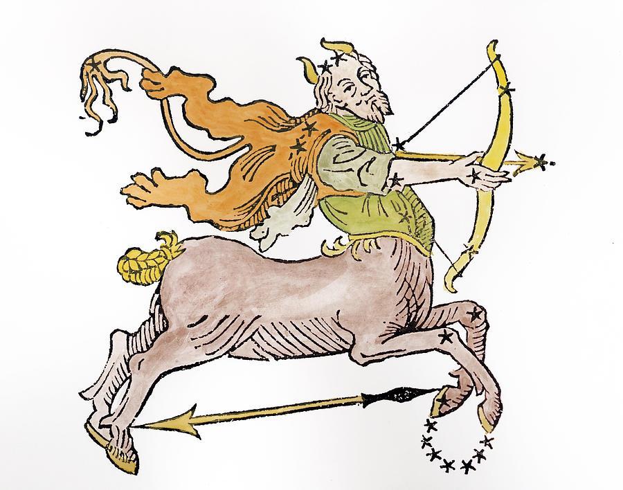 Sagittarius An Illustration Painting