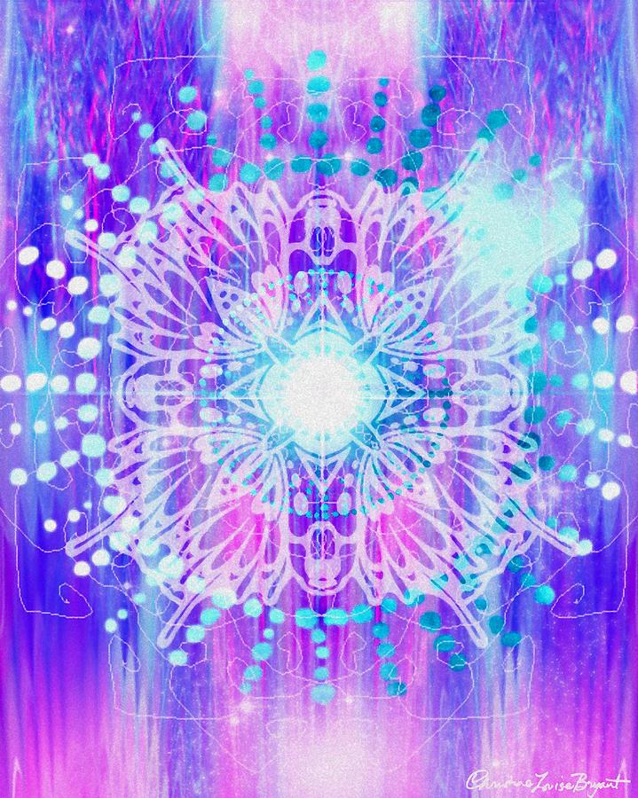 Sahasrara - Chakra 7 Digital Art