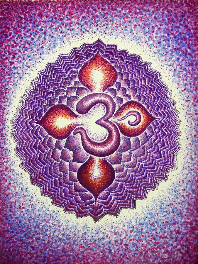 Sahasrara Crown Chakra  Drawing