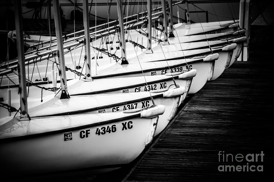 America Photograph - Sailboats In Newport Beach California Picture by Paul Velgos