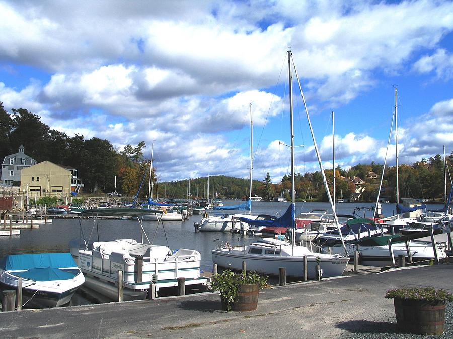 Sailboats On Sunapee Photograph