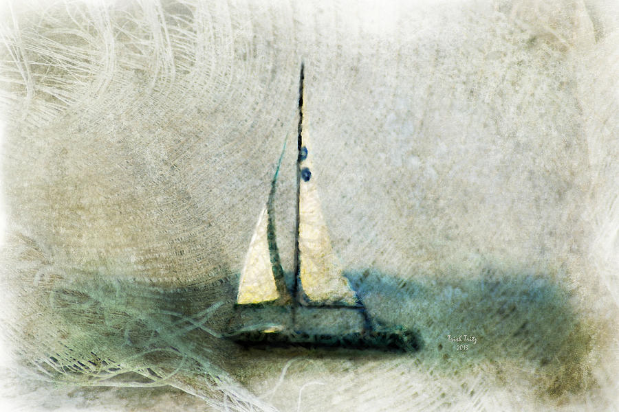Sailin With Sally Starr Mixed Media  - Sailin With Sally Starr Fine Art Print
