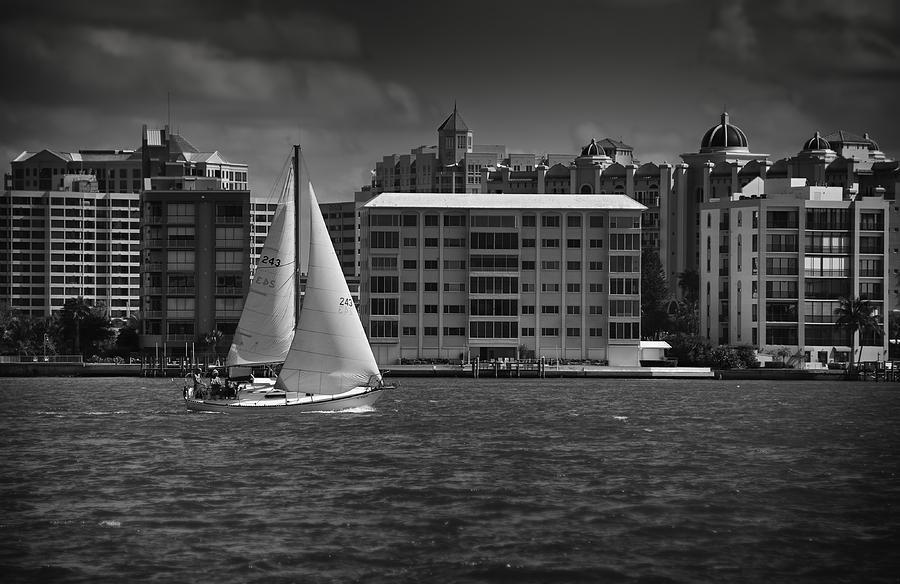 Sailing Away Photograph