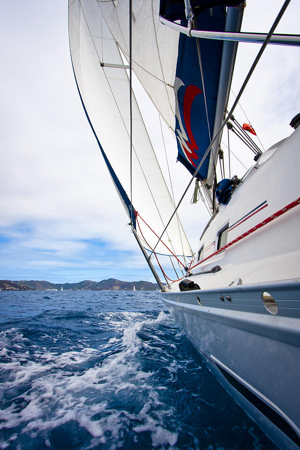 Sailing Bvi Photograph