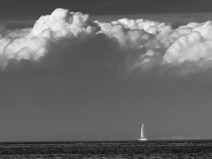 Sailing Home Photograph