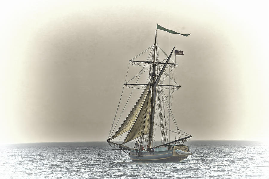Sailing Off Photograph  - Sailing Off Fine Art Print