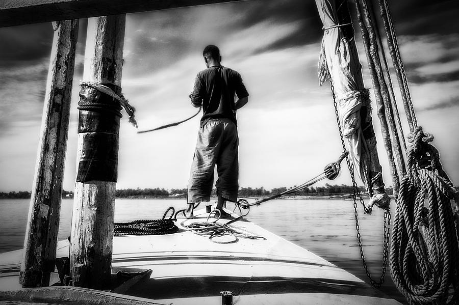 Sailing On The Nile Photograph  - Sailing On The Nile Fine Art Print
