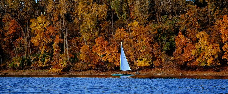 Sailing The Mississippi River 3 Photograph  - Sailing The Mississippi River 3 Fine Art Print