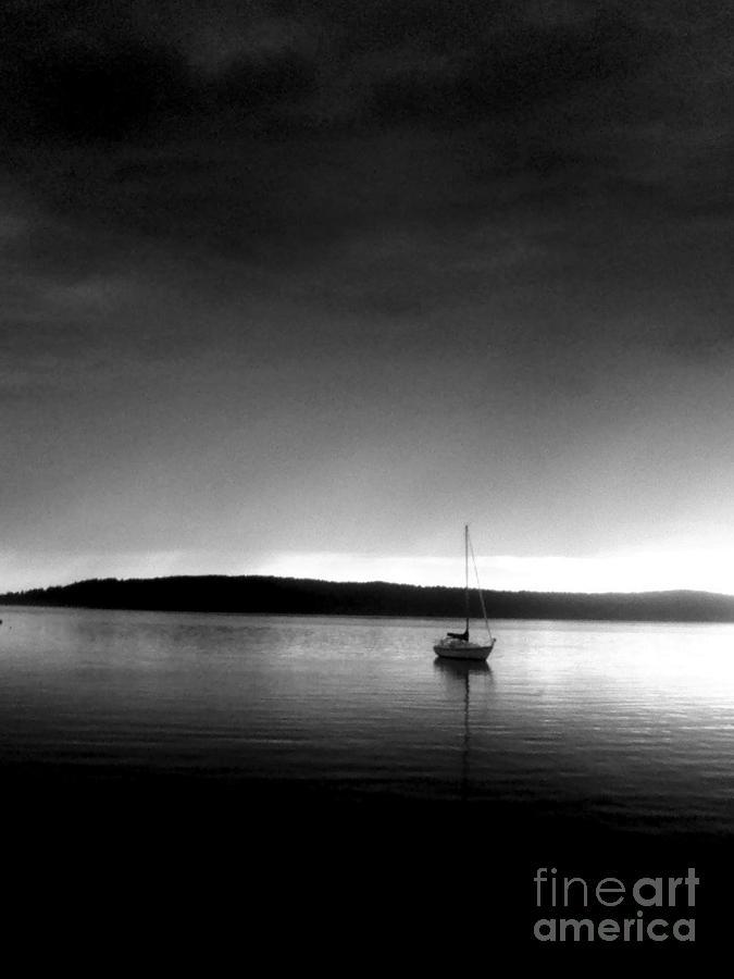 Sailing Through The Light Photograph