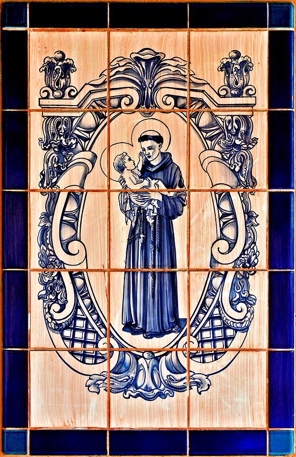 Saint Anthony Of Padua Photograph