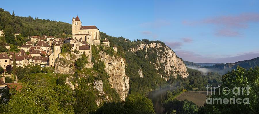 Saint Cirq Panoramic Photograph