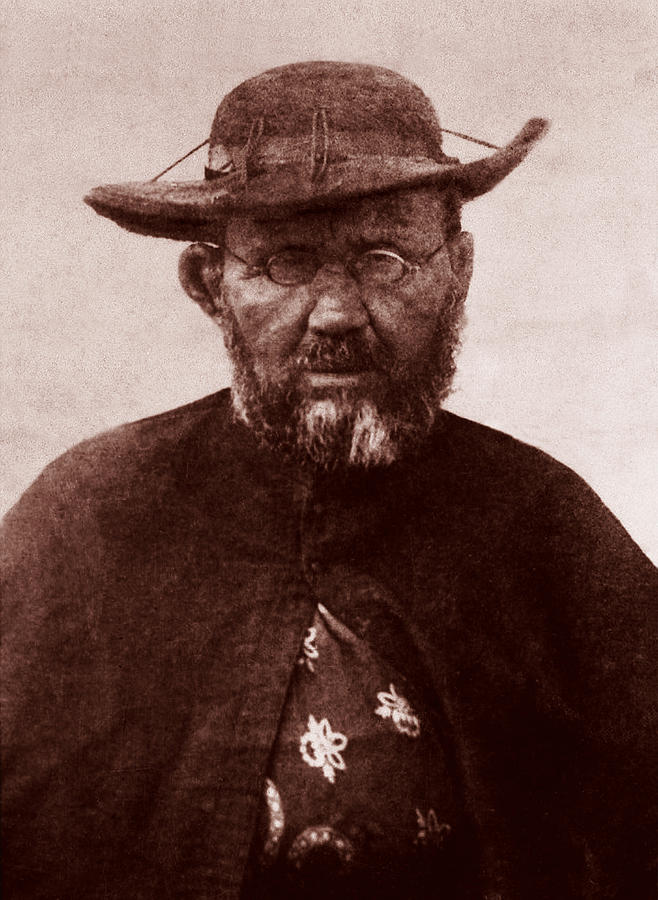 Saint Damien Photograph