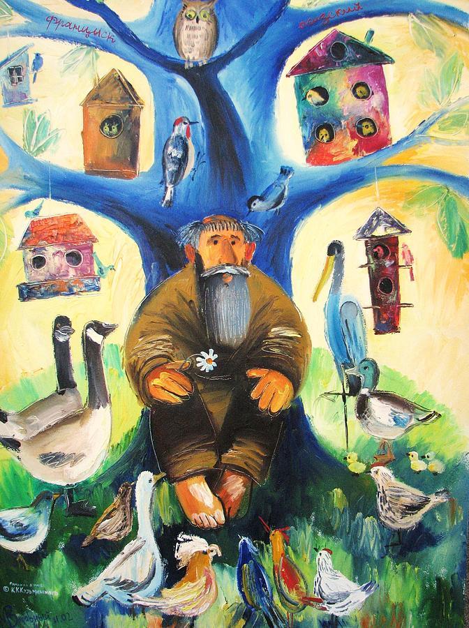 Saint Francis Painting