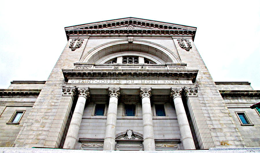 Saint Joseph Du Mont Royal Facade Photograph