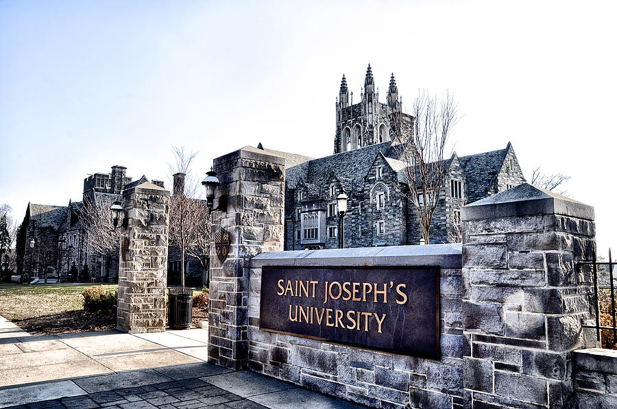Saint Josephs University Photograph  - Saint Josephs University Fine Art Print