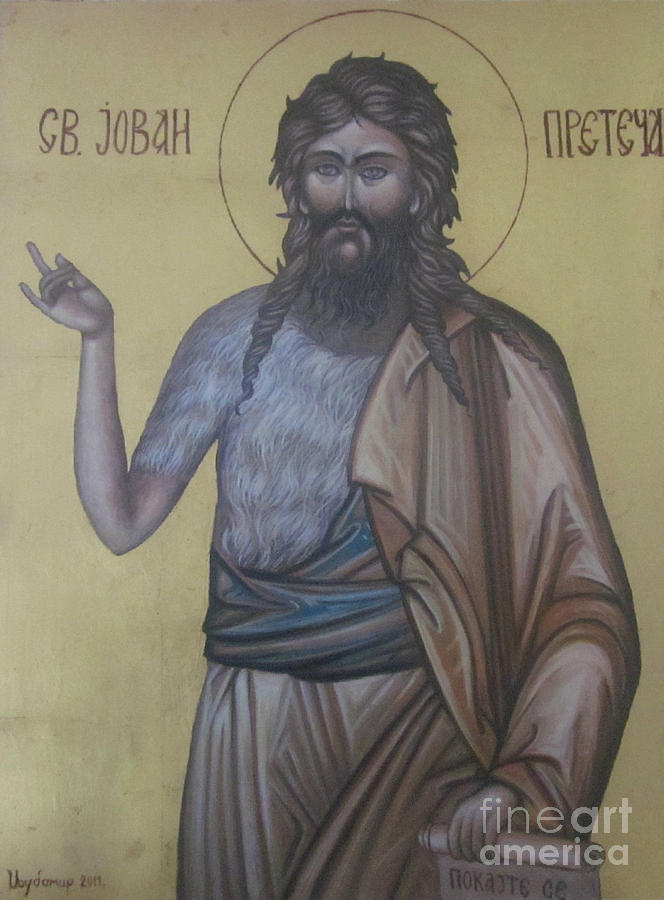Saint Jovan Painting