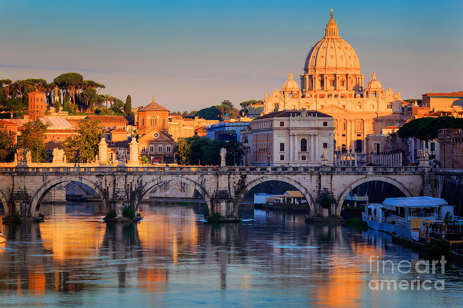 Saint Peters Basilica Photograph  - Saint Peters Basilica Fine Art Print