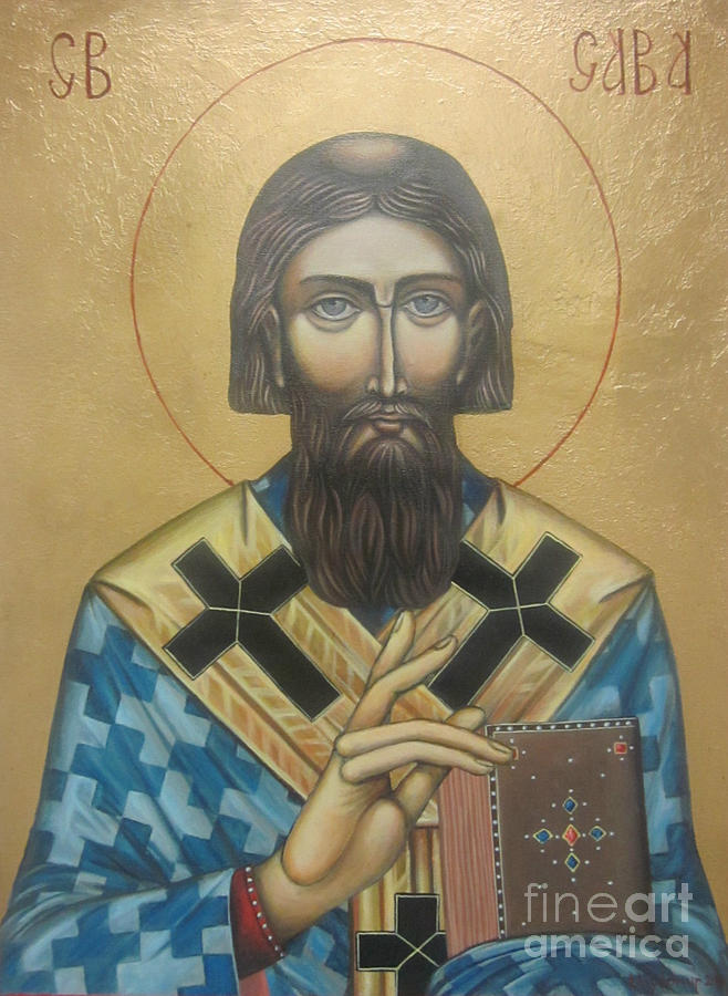 Saint Sava Painting