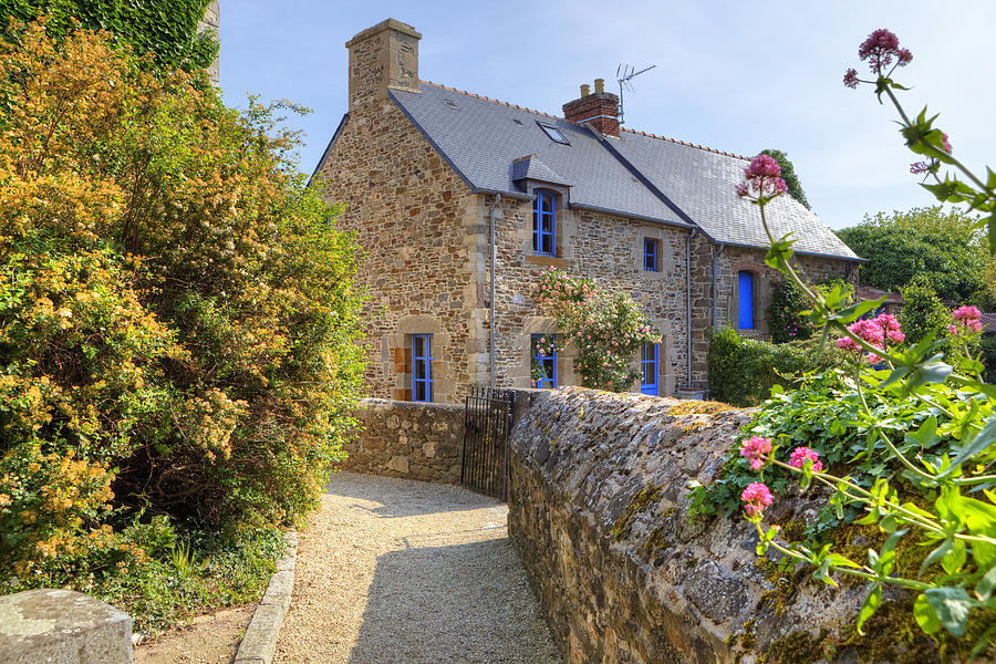 Saint-suliac - Brittany Photograph