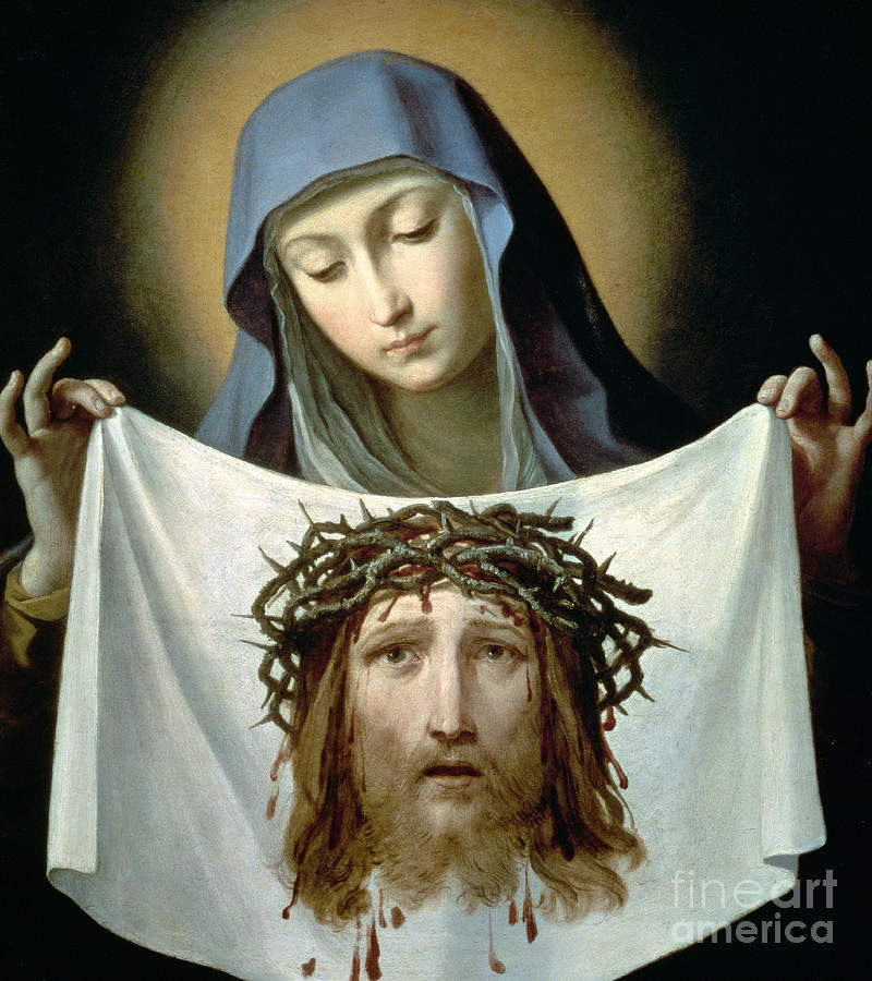 Saint Veronica Painting