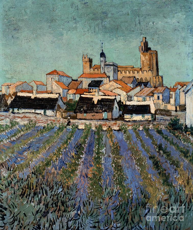 Saintes Maries De La Mer Painting