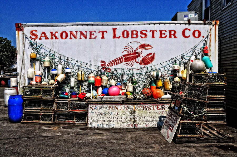 Sakonnet Lobster Co. Photograph by Mike Martin