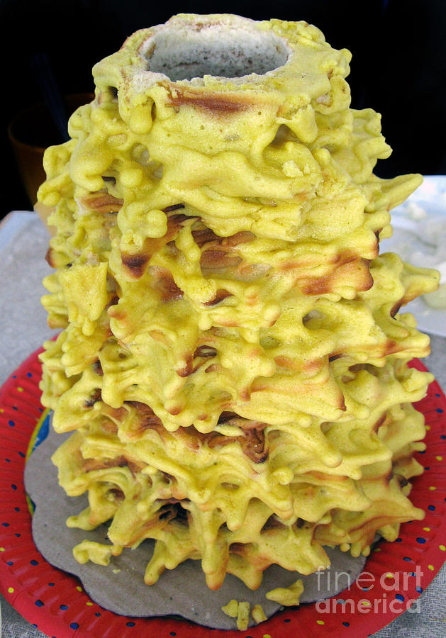 Tree Cake - Lithuanian Home Cooking
