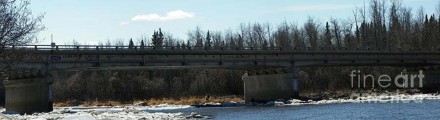 Landscape Photograph - Salcha Bridge by Jennifer Kimberly