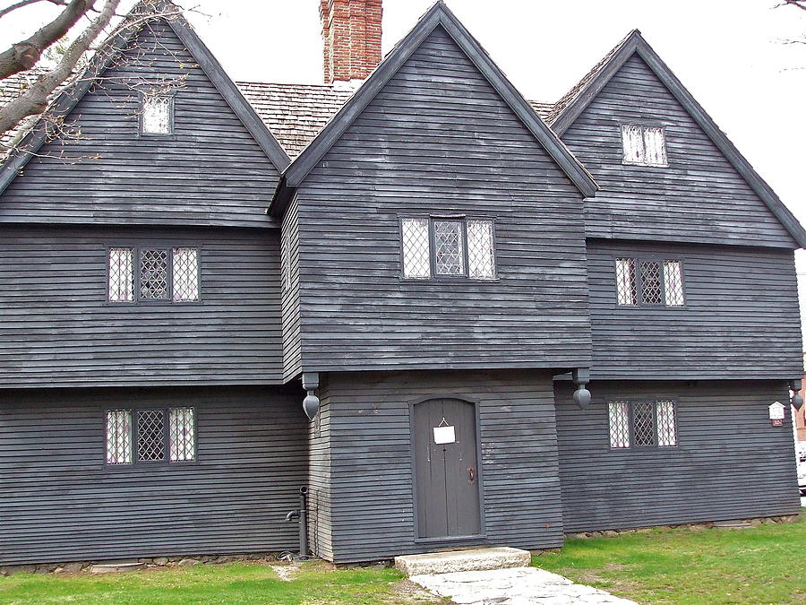 Salem Witch House by Susan Wyman