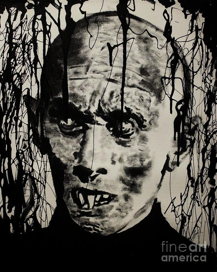 Salems Lot Painting  - Salems Lot Fine Art Print