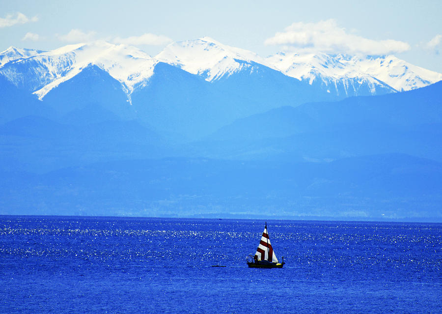 Salish Sea Sail Photograph  - Salish Sea Sail Fine Art Print