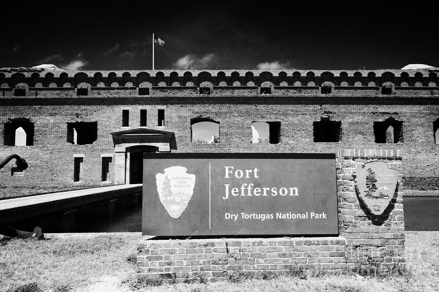Sally Port Entrance To Fort Jefferson Dry Tortugas National Park Florida Keys Usa Photograph