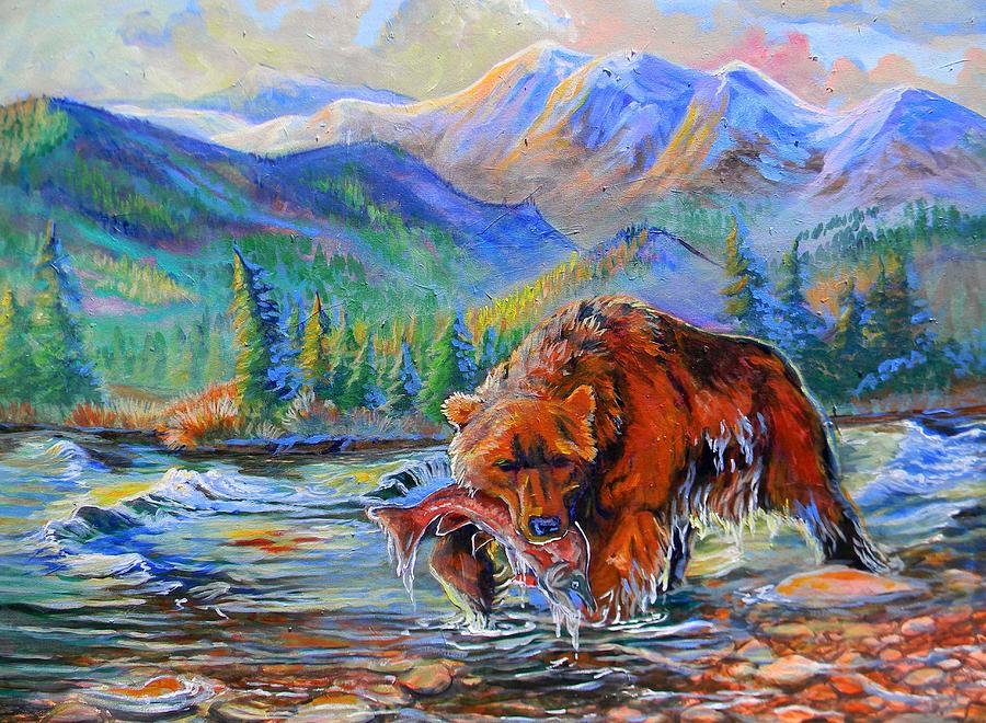 Salmon Creek  Painting