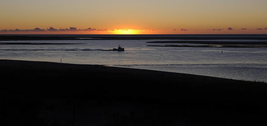 Salty Sunrise Photograph