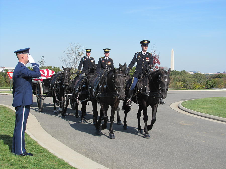 Caisson Funeral