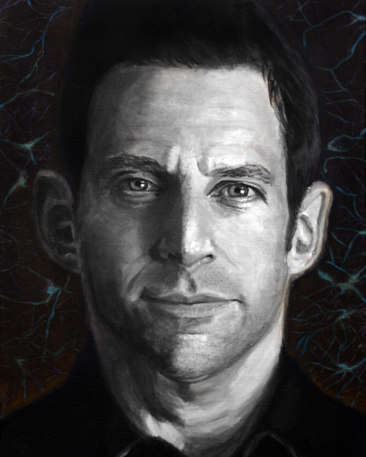Sam Harris Painting